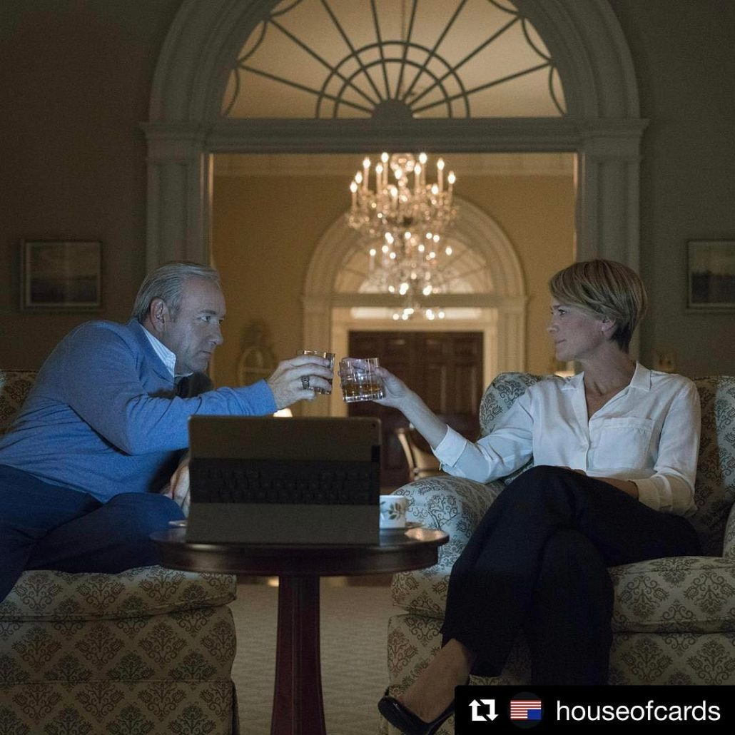 Finally New season houseofcards 30may politics instagood instagram robinwright kevinspaceyhellip