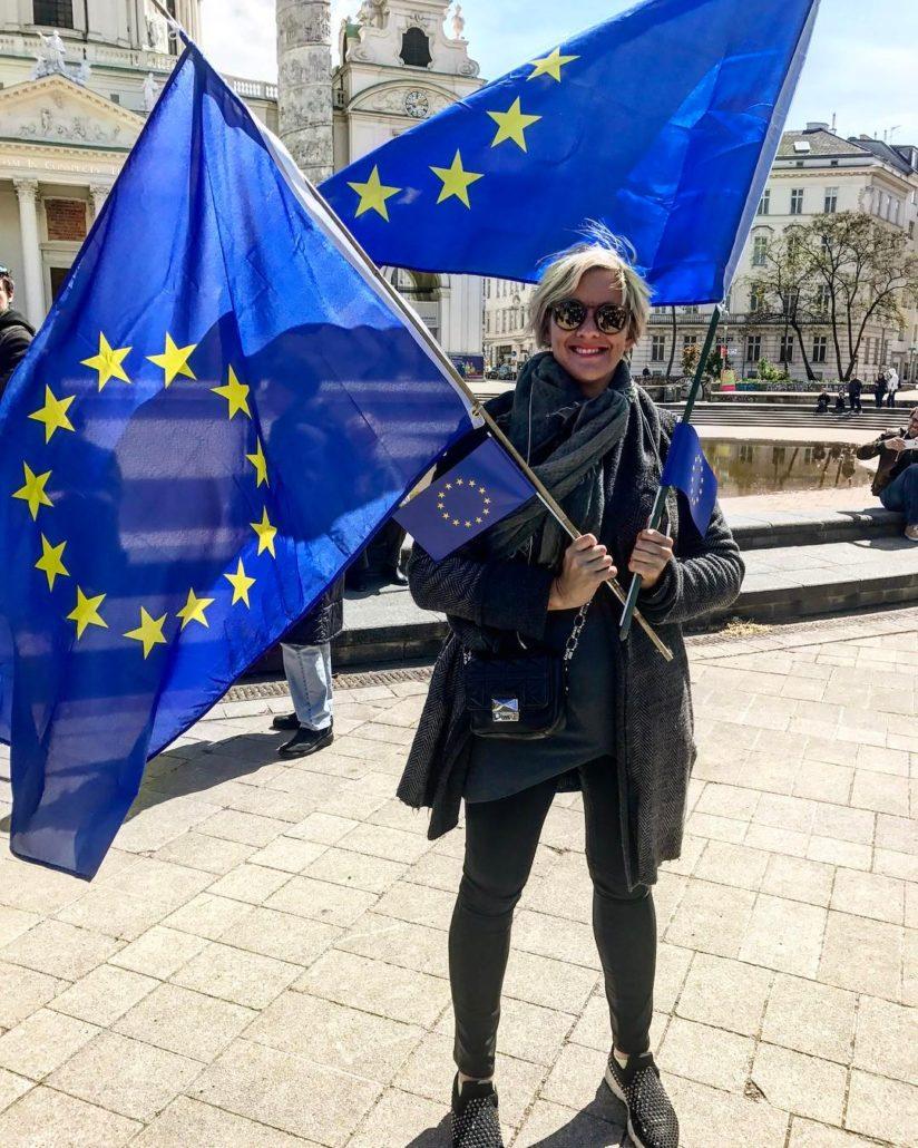 Je suis Europe pulseofeurope europeancommission europeanunion europeanparliament singlemarket igersvie igersviennahellip
