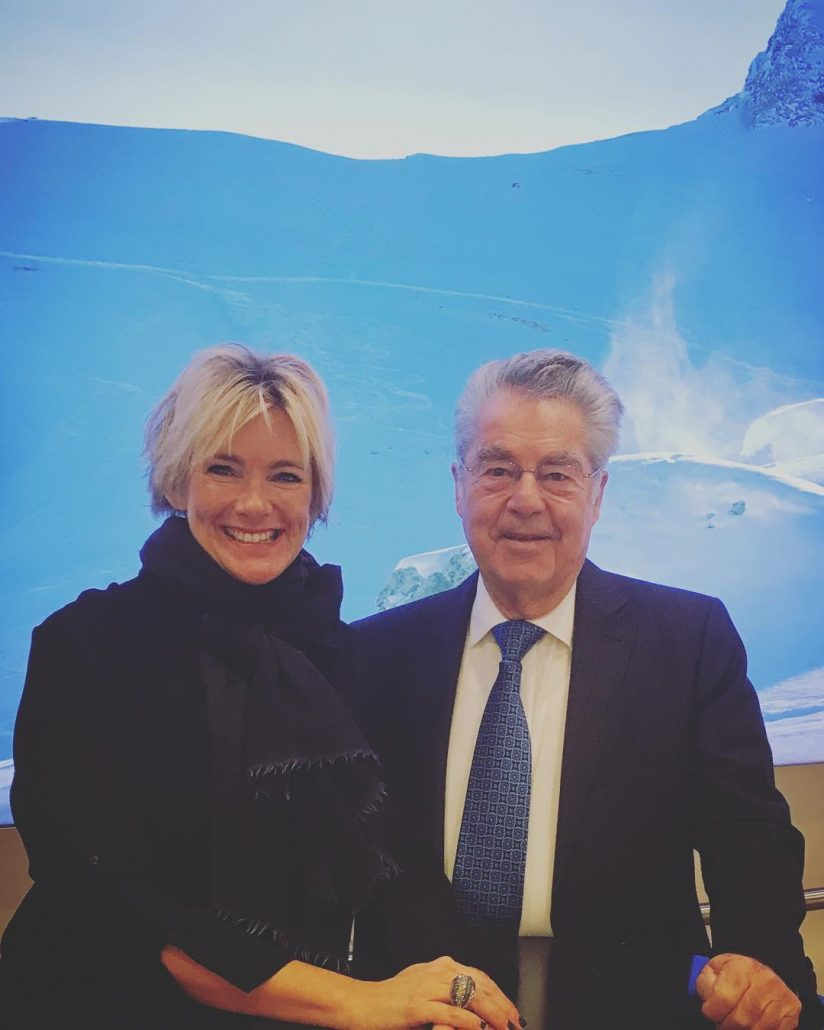 Talking to austrias Ex President Heinz Fischer business travel airporthellip