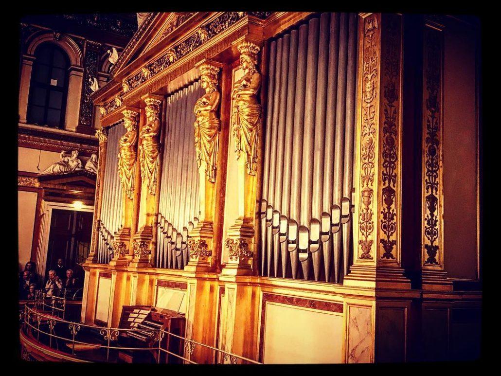 Organ at musikvereinwien queen instruments music sacral architecture theophilhansen antonbrucknerhellip